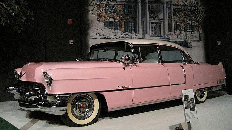 Rodar con Arte: Los autos de Elvis Presley