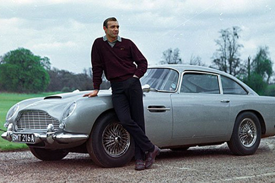 Rodar con Arte. El fantástico auto de James Bond