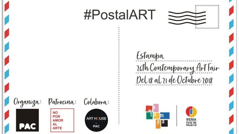 PAC lanza POSTALART by PAC para Estampa 2018