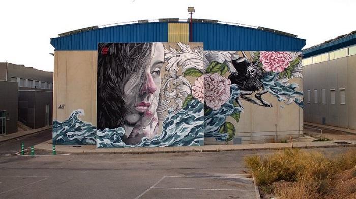 Urvanity Projects y Compartiendo Muros llenan de arte las calles de Madrid
