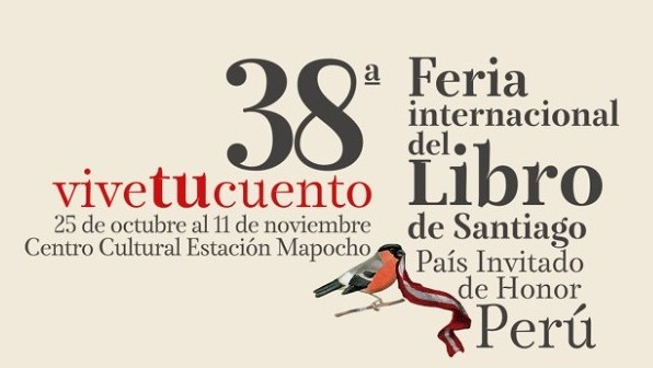 Feria del Libro de Chile trae a Perú como invitado de honor