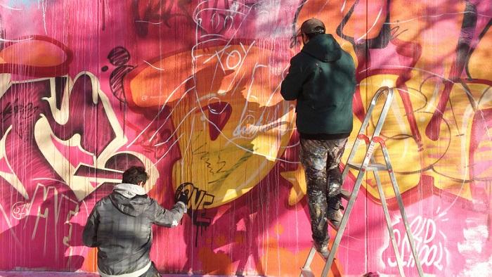 La academia de arte urbano de Tuenti llega a Granada