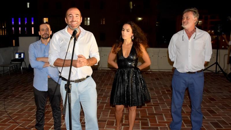 Flamenco on the terrace