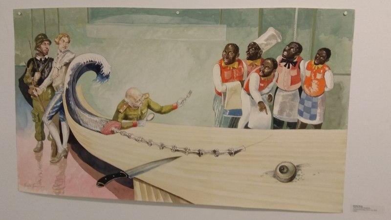 La pintura cubana en Barcelona