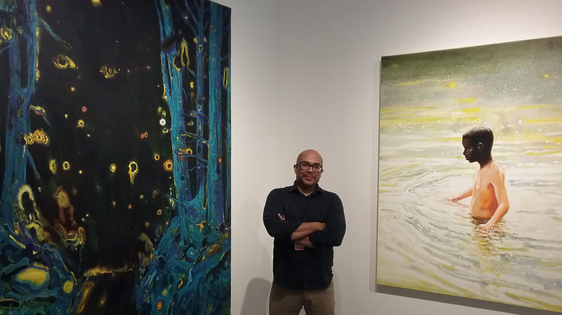 Pulse Contemporary Art Fair. Rostro cubano en la muchedumbre