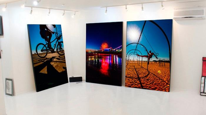 Kike Valderrama, su primera pared es en Miami River