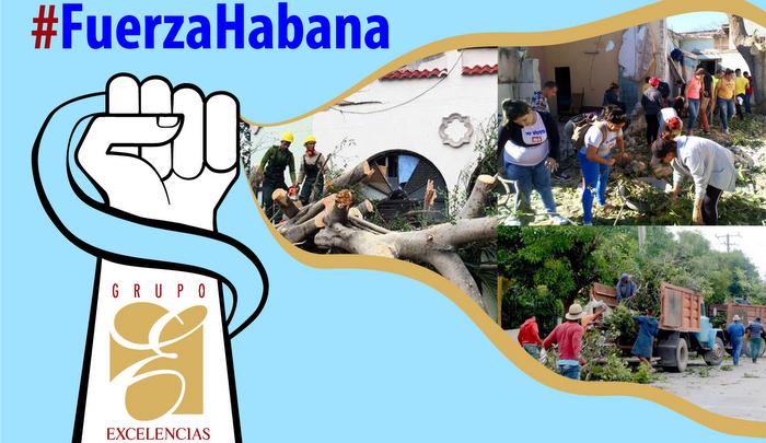 Convoca Grupo Excelencias a la solidaridad con La Habana