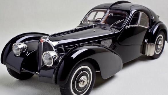 Rodar con Arte. Jean Bugatti y el Type 57
