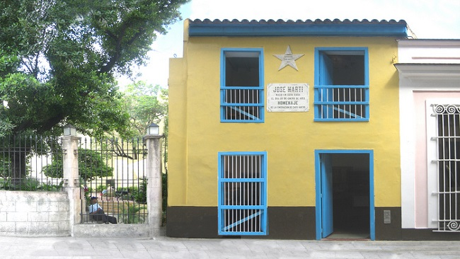 The house of Paula, the place where the National Hero of Cuba was born