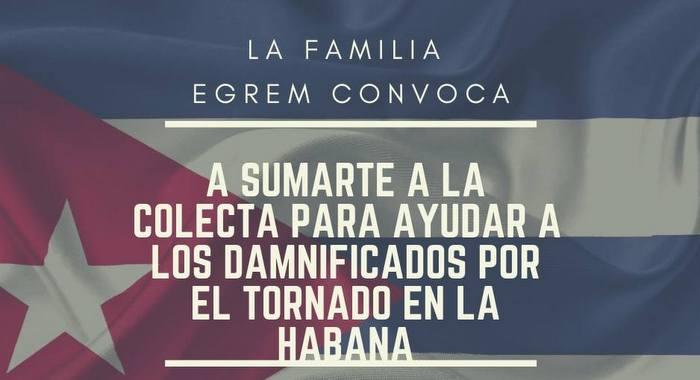 La familia EGREM se une para apoyar a damnificados