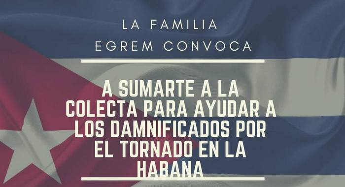 The EGREM family joins to support the victims