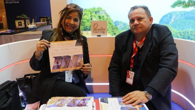 Paradiso presents news at FITUR 2019