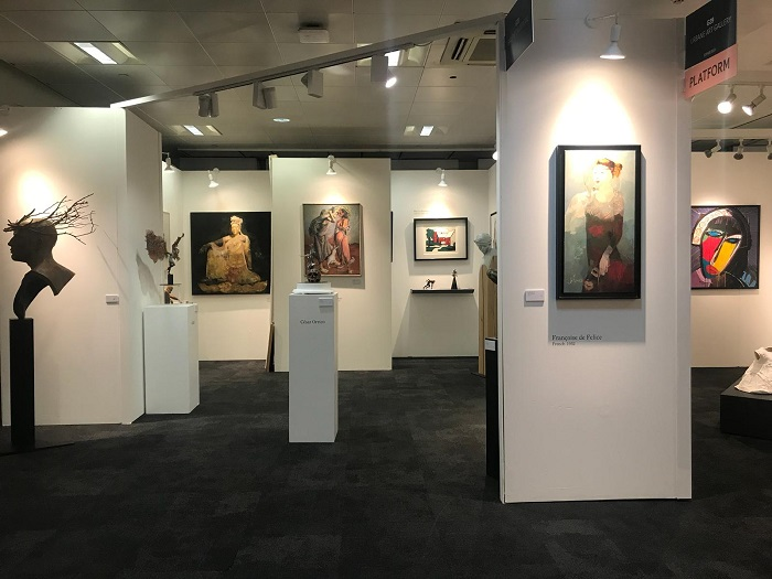 Arte por Excelencias recorre Art London