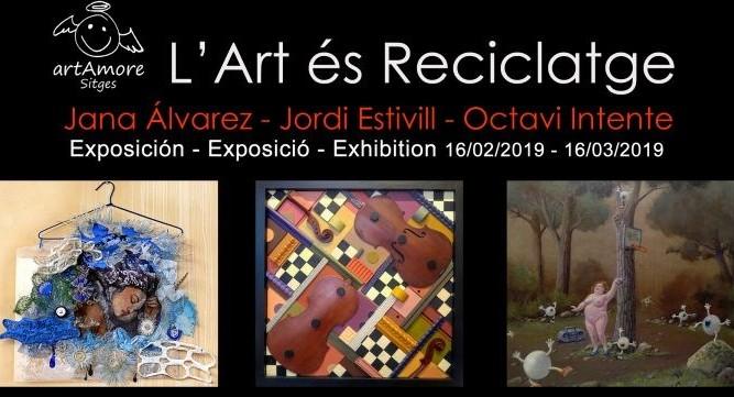 artAmore de aniversario con El Arte es Reciclaje