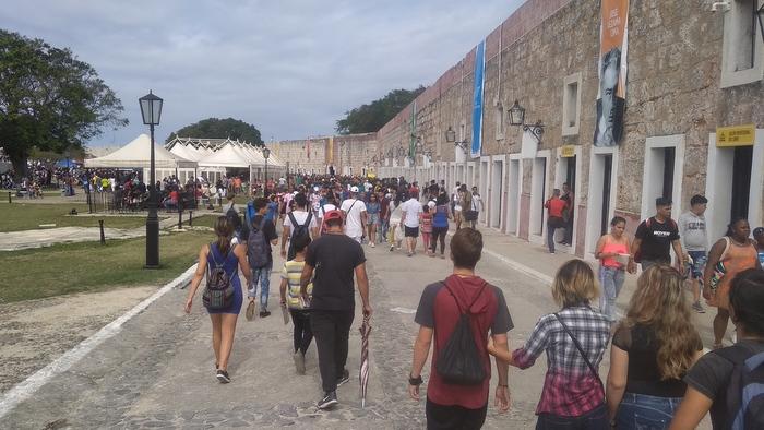 On Monday at the International Book Fair of Havana