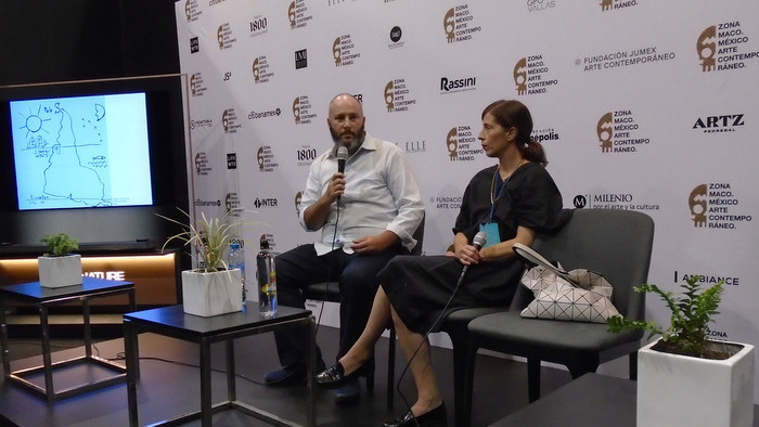 Questions from art in Brazil