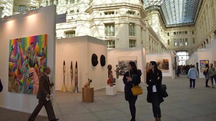 Comienza la edición más internacional de Art Madrid