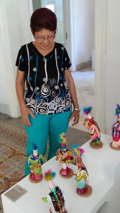 Artesanía dominicana en suelo hermano