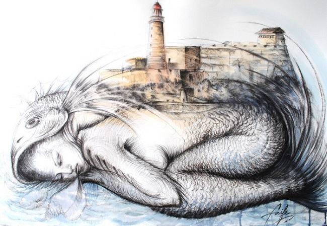 Luces y Sombras dedicado a Yudit Vidal Faife