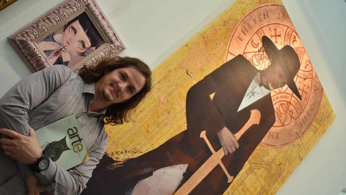 Roldán Lauzán, la cara visible de Cuba en Art Madrid´19