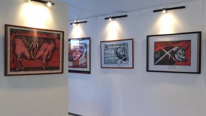 La serigrafía cubana en la XIII Bienal de La Habana