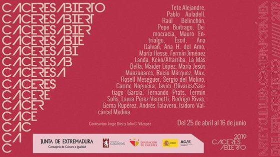 El arte toma el protagonismo en Cáceres