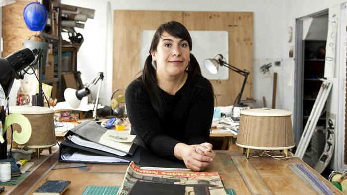 Tania Candiani en la XIII Bienal de La Habana