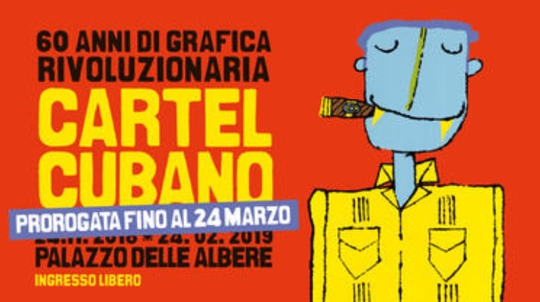 Closure of Cuban posters in Italy