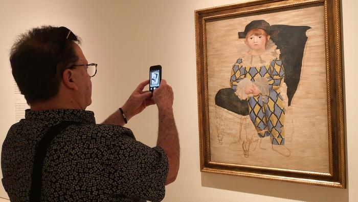 Olga Picasso, entre escenas familiares y minotauros
