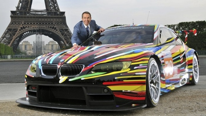 "Filming with Art: The ""Art Car Collection"" of BMW"