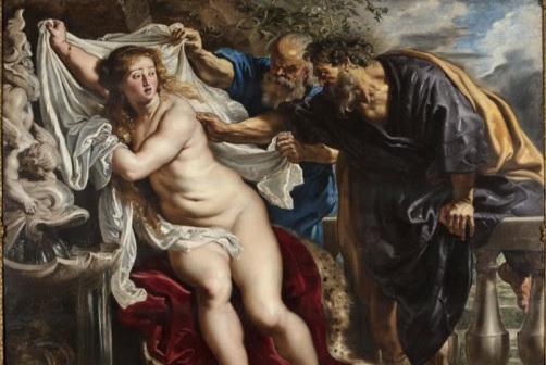 """""""Susana y los viejos"""" de Rubens recobra sus colores originales"""