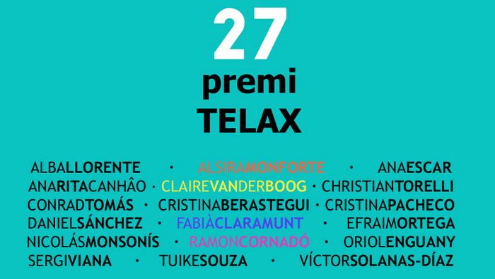 Ganadores del Premio Telax en muestra colectiva