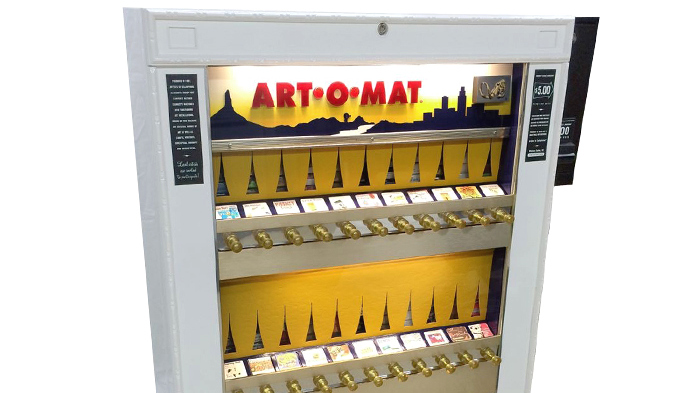Art-o-mat: The black sheep of the vending is reconverted