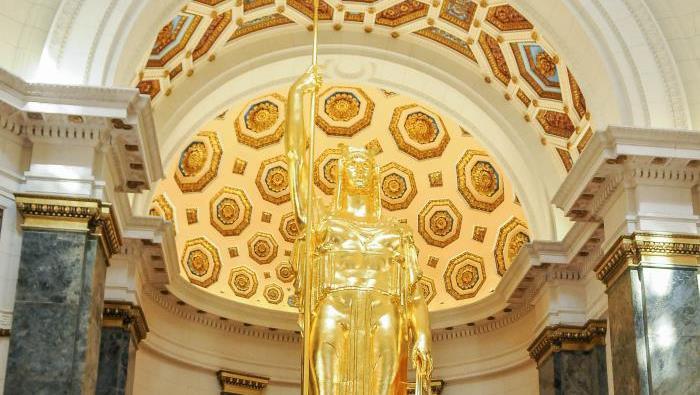 Recobra su esplendor Estatua de la República en el Capitolio de La Habana