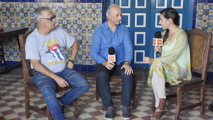Entrevista a José Carlos de Santiago en la Fiesta del Fuego