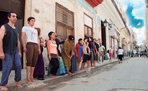 Dance invades the Downtown Historic District of Havana