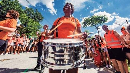 Un destino preferido del Carnaval de Brasil