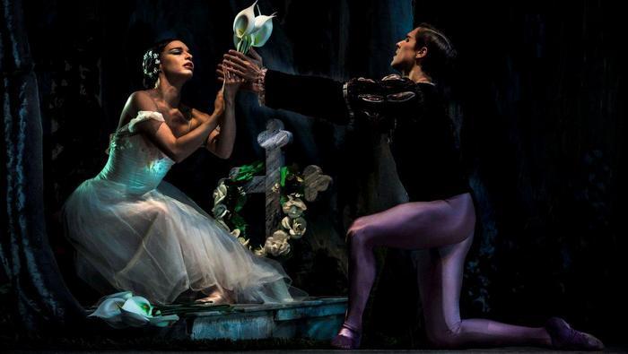 Giselle a la escena del Gran Teatro de la Habana Alicia Alonso