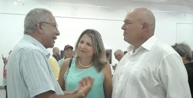 Rinden homenaje a Fidel en la galería El Reino de este Mundo
