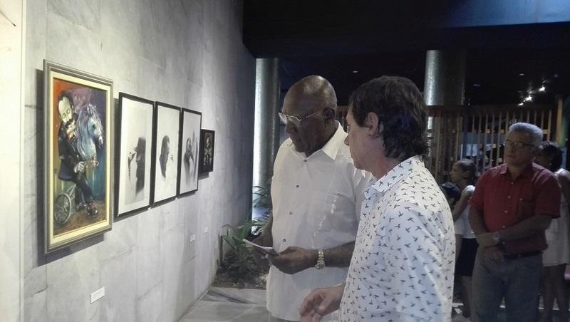Expone Ernesto Rancaño en el Memorial José Martí
