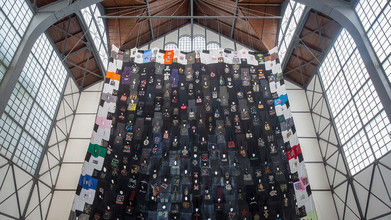 Pia Camil participating in the Aichi Triennale 2019