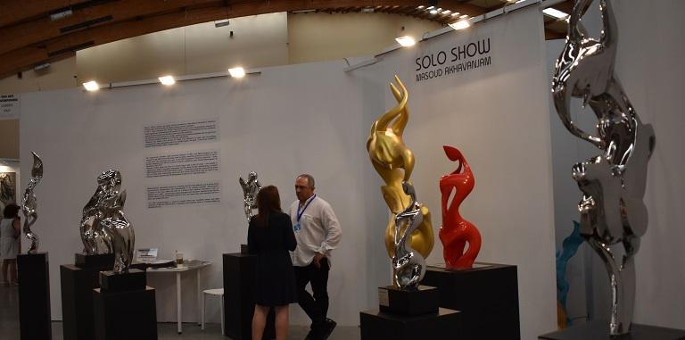 Solo Iranian Sculptures Show at Art Marbella 2019