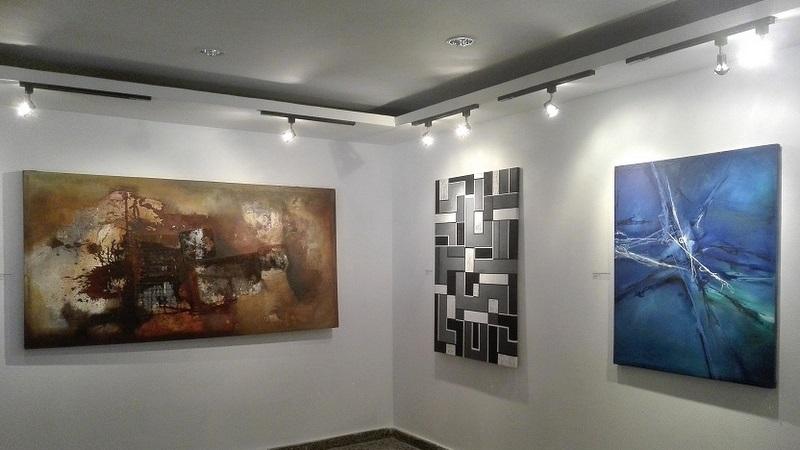 En Collage Habana, la eterna atracción del arte abstracto