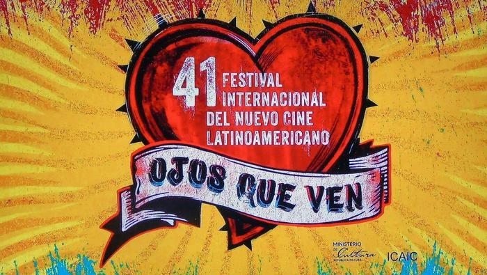 La gráfica del 41 Festival Internacional del Nuevo Cine Latinoamericano
