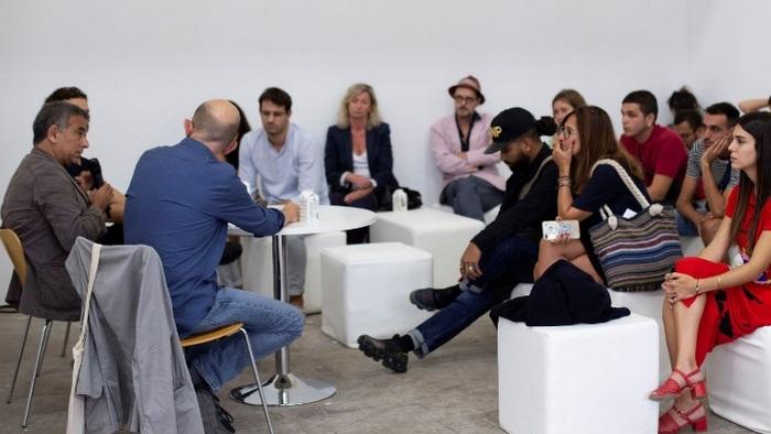 Espacio para la formación y el diálogo en Swab Barcelona
