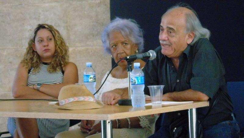 Presentó Manuel López Oliva su serigrafía «El pueblo soy yo»