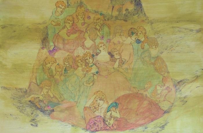 Dibujo español en el museo ABC