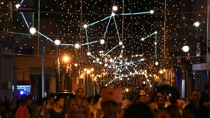 La Habana creativa e iluminada
