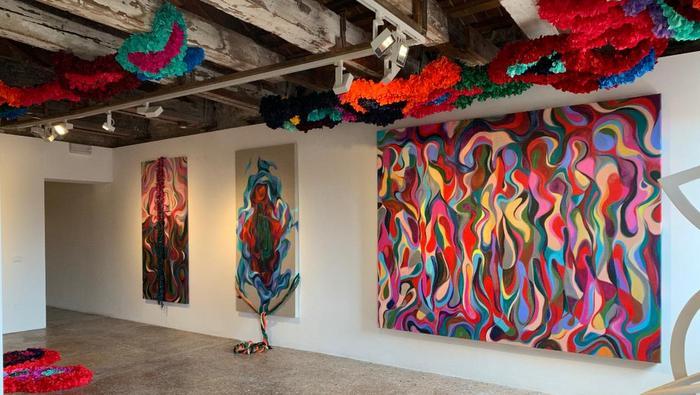 Venice Biennale. Soraya Abu Naba'a