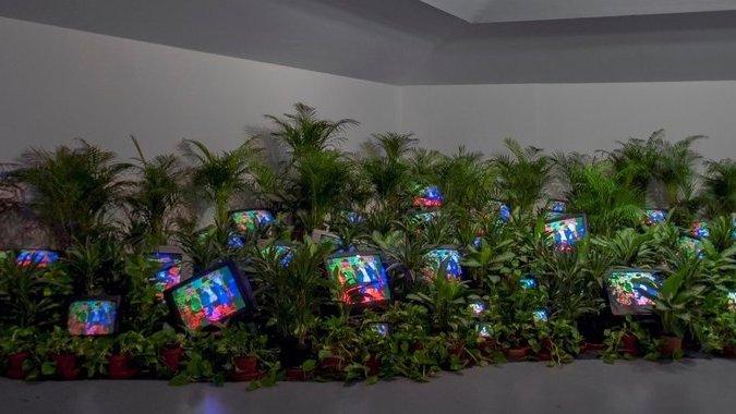 Tate Modern. Nam June Paik